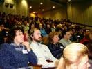 В зале во время конференции